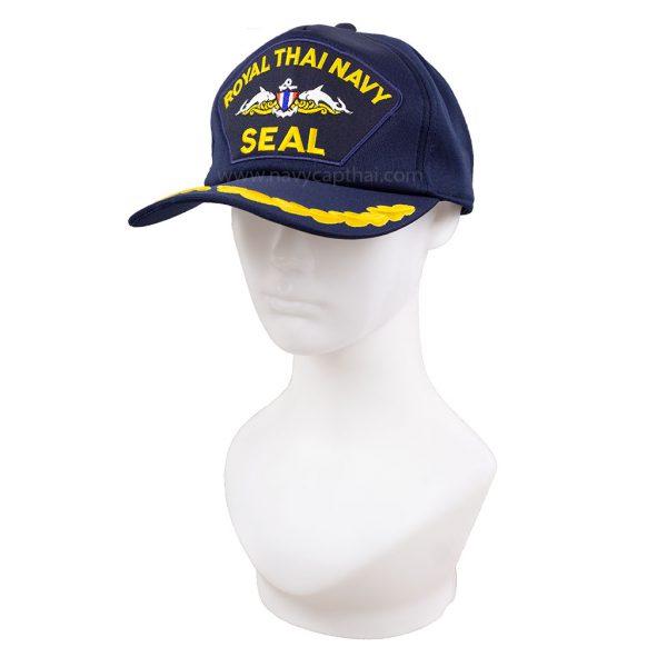 หมวกแก๊ปหน่วยซีล-1-ช่อ