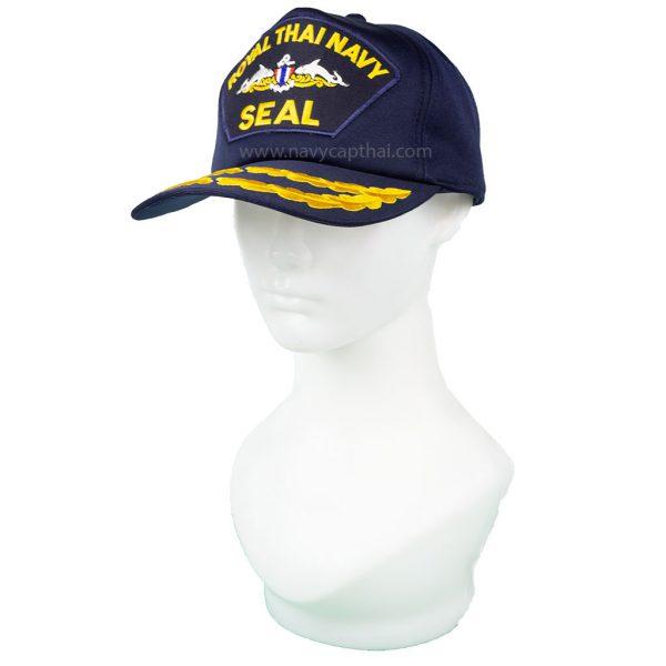 หมวกแก๊ปหน่วยซีล 2 ช่อ