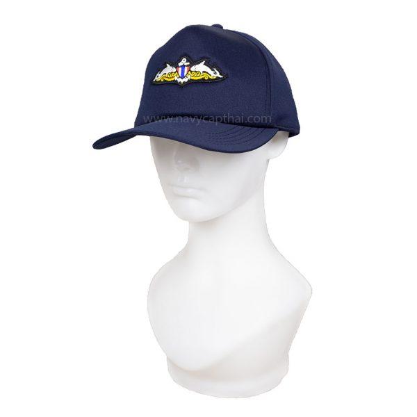 หมวกแก๊ปปักปีกซีล