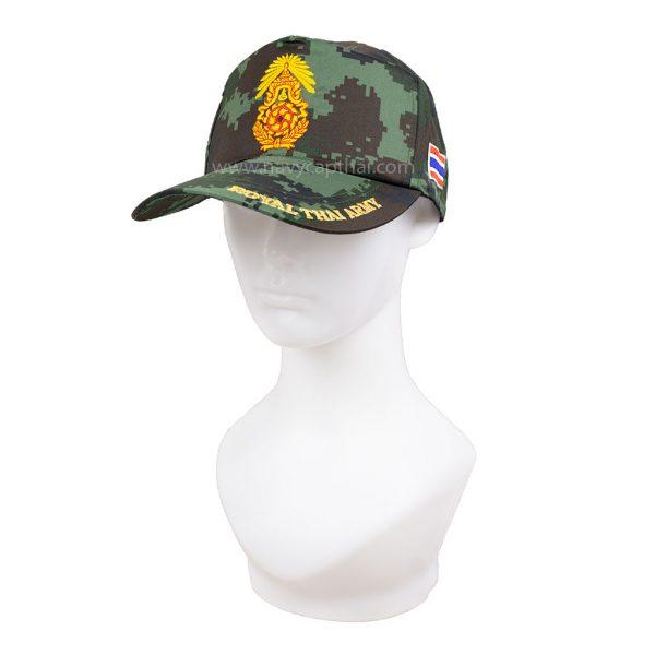 หมวกแก๊ปทหารบกลายพราง