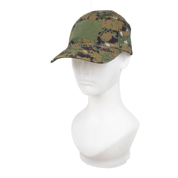 หมวกตีนตุ๊กแกพรางดิจิตอลเขียว