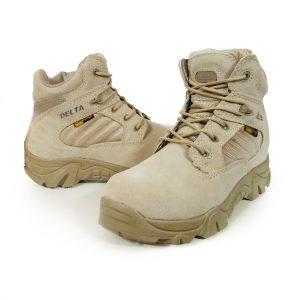 รองเท้า Delta ข้อสั้นสีทราย