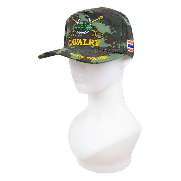 หมวกแก๊ปทหารม้าลายพราง