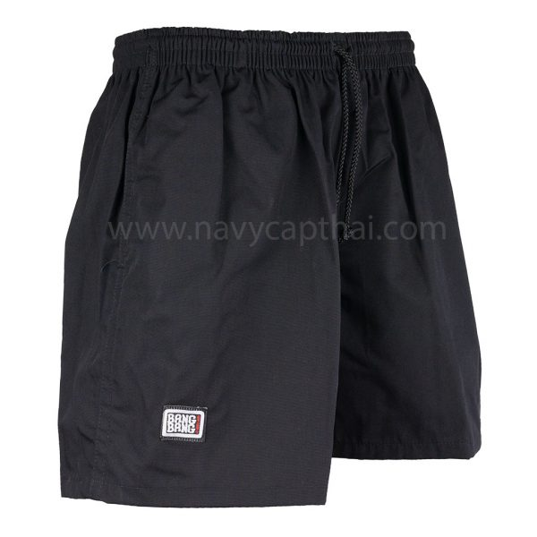 กางเกงแบงแบงสีดำ