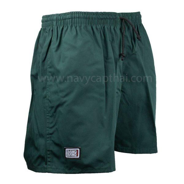กางเกงแบงแบงสีเขียว