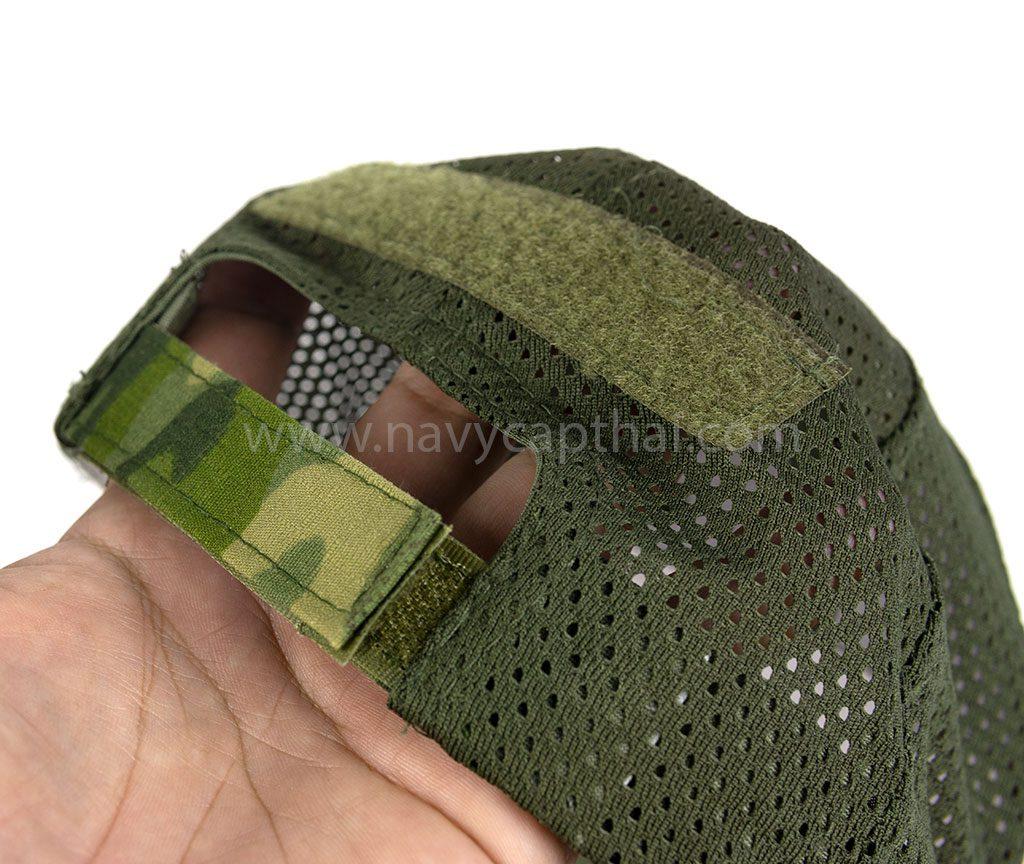 หมวกตาข่ายพรางเขียว-2