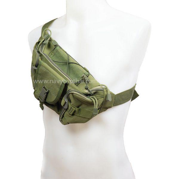 กระเป๋า X8 สีเขียว