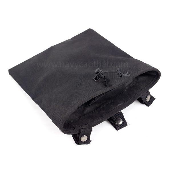 ถุงทิ้งแม็กสีดำ