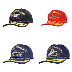 หมวกแก๊ปเรือหลวง-เรือ USS