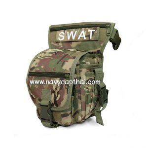 กระเป๋าคาดขา SWAT ลายมัลติแคม
