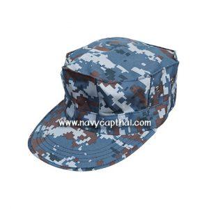 หมวกทหารทรงแปดเหลี่ยมลายพรางดิจิตอลทหารอากาศ