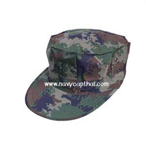 หมวกทหารทรงแปดเหลี่ยมลายพรางดิจิตอลทหารเรือ