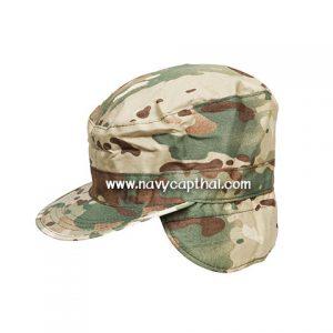 หมวกปิดหูทหารลายมัลติแคม