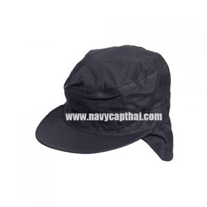 หมวกปิดหูทหารสีดำ