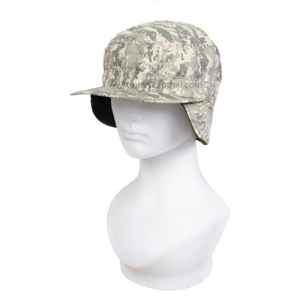 หมวกปิดหูพรางACU