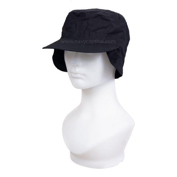 หมวกปิดหูสีดำ