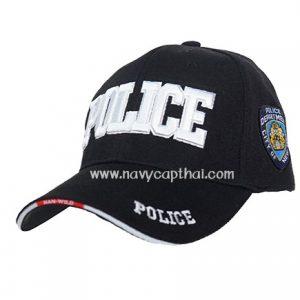 หมวกแก๊ปปัก POLICE