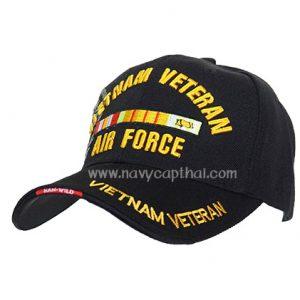 หมวกแก๊ป VIETNAM VETERAN AIR FORCE