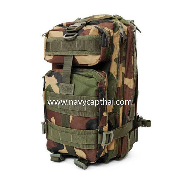 กระเป๋าเป้ทหาร 3P ลายพราง