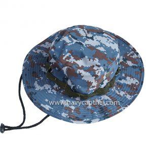 หมวกปีกรอบลายพรางดิจิตอลทหารอากาศ