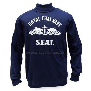 เสื้อยืดสกรีน SEAL แขนยาว