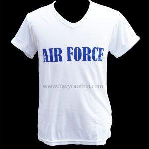 เสื้อยืด AIRFORCE สีขาว