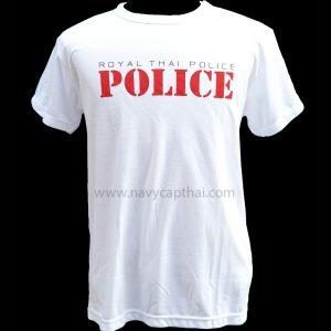 เสื้อยืด POLICE
