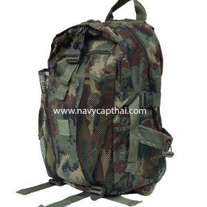 กระเป๋าเป้ทหารลายพรางดิจิตอลทหารเรือ