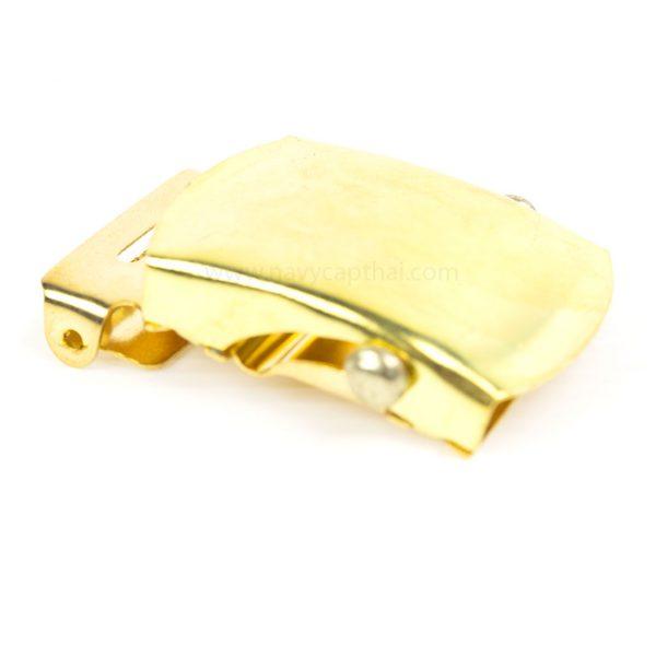 หัวเข็มขัดเรียบทอง
