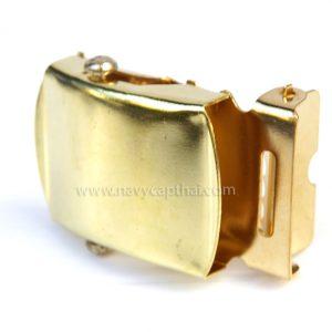 หัวเข็มขัดเรียบ ทอง