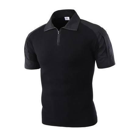 เสื้อ BATTLE SHIRT แขนสั้นสีดำ