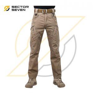 กางเกง Sector7 รุ่น IX9 ผ้ายืดสีกากี