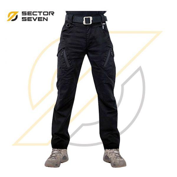 กางเกง Sector7 รุ่น IX9 ผ้ายืดสีดำ