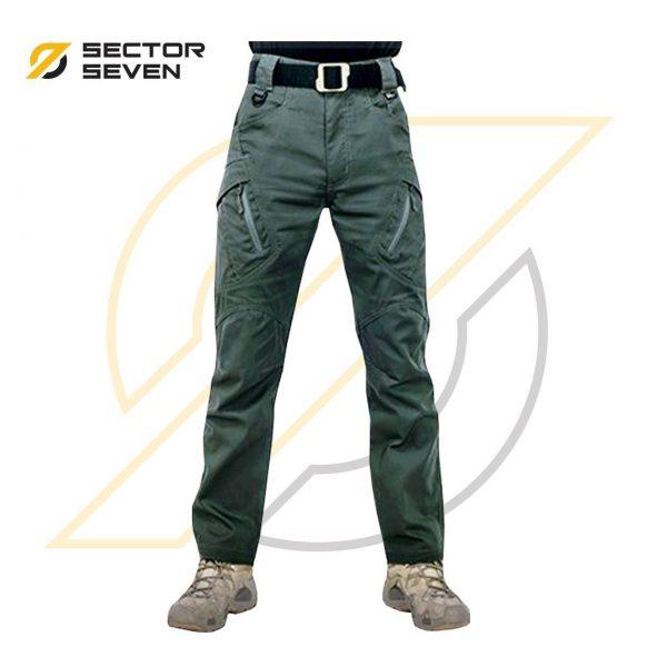 กางเกง Sector7 รุ่น IX9 ผ้ายืดสีเขียว