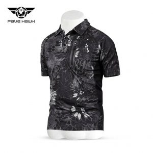 เสื้อ PAVEHAWK A ลายงูดำ