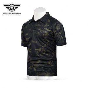 เสื้อ PAVEHAWK B พรางดำ