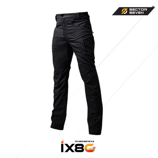 กางเกง SECTOR SEVEN IX8C สีดำผ้าตาราง