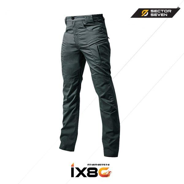 กางเกง SECTOR SEVEN IX8C สีเขียวผ้าตาราง