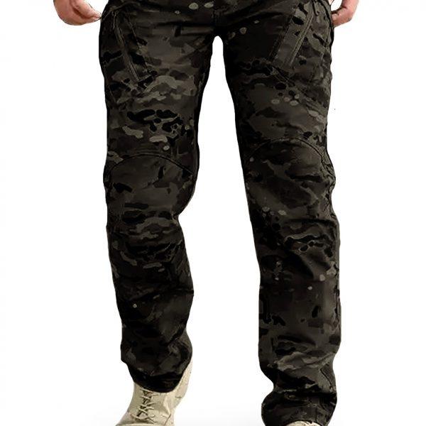 กางเกง SECTOR SEVEN IX9C ผ้าตาราง พรางดำ