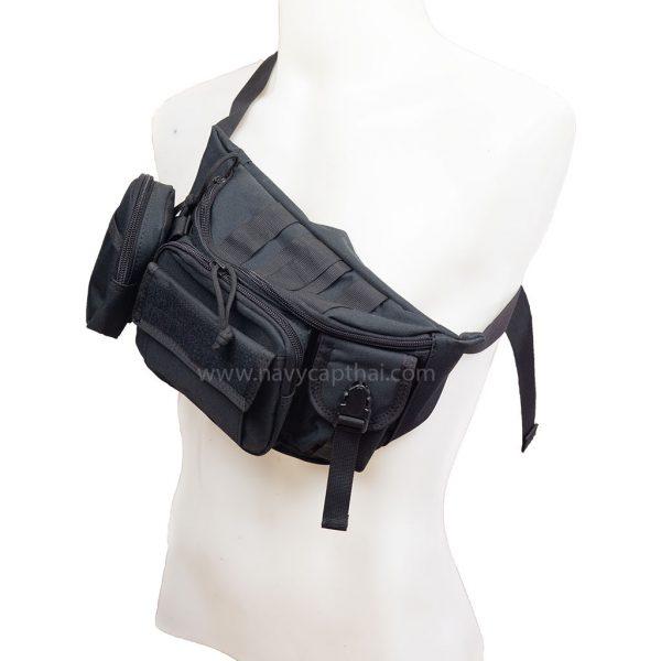กระเป๋าคาดเอว คาด-อกสีดำ