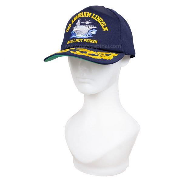หมวกแก๊ป USS ABRAHAM LINCOLN 2 ช่อ