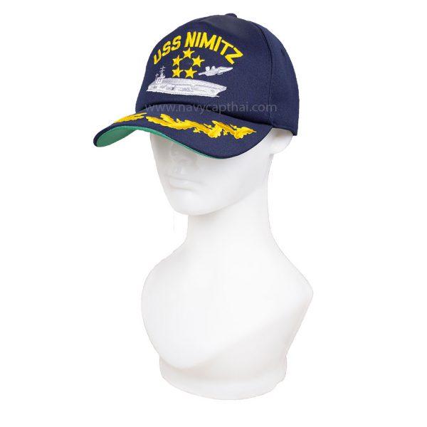 หมวกแก๊ป USS NIMITZ 1 ช่อ