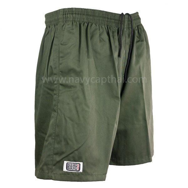 กางเกงแบงแบงสีเขียวขี้ม้า