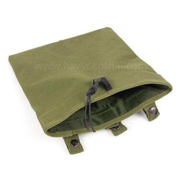ถุงทิ้งแม็กสีเขียว